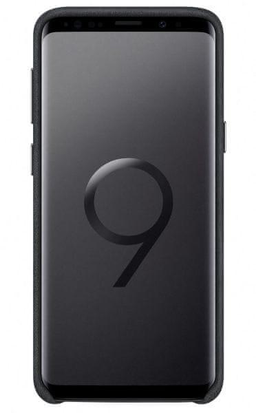 Samsung Zadní kryt - kůže Alcantara pro Samsung Galaxy S9+ (EF-XG965ABEGWW)