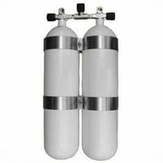 """EUROCYLINDER Lahev """"dvojče"""" 2 x 12 L 232 bar manifod (těžké)"""