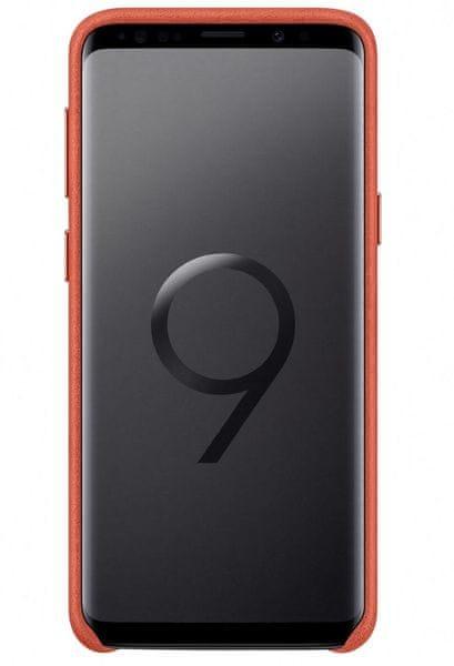 Samsung Zadní kryt - kůže Alcantara pro Samsung Galaxy S9+ (EF-XG965AREGWW)