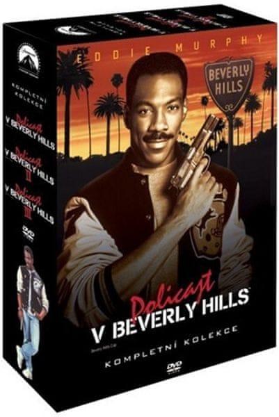 Kolekce Policajt v Beverly Hills 1.-3. 3DVD - DVD