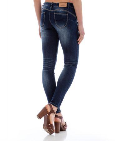 Timeout dámské jeansy 28 30 tmavě modrá  97ef91a6d9