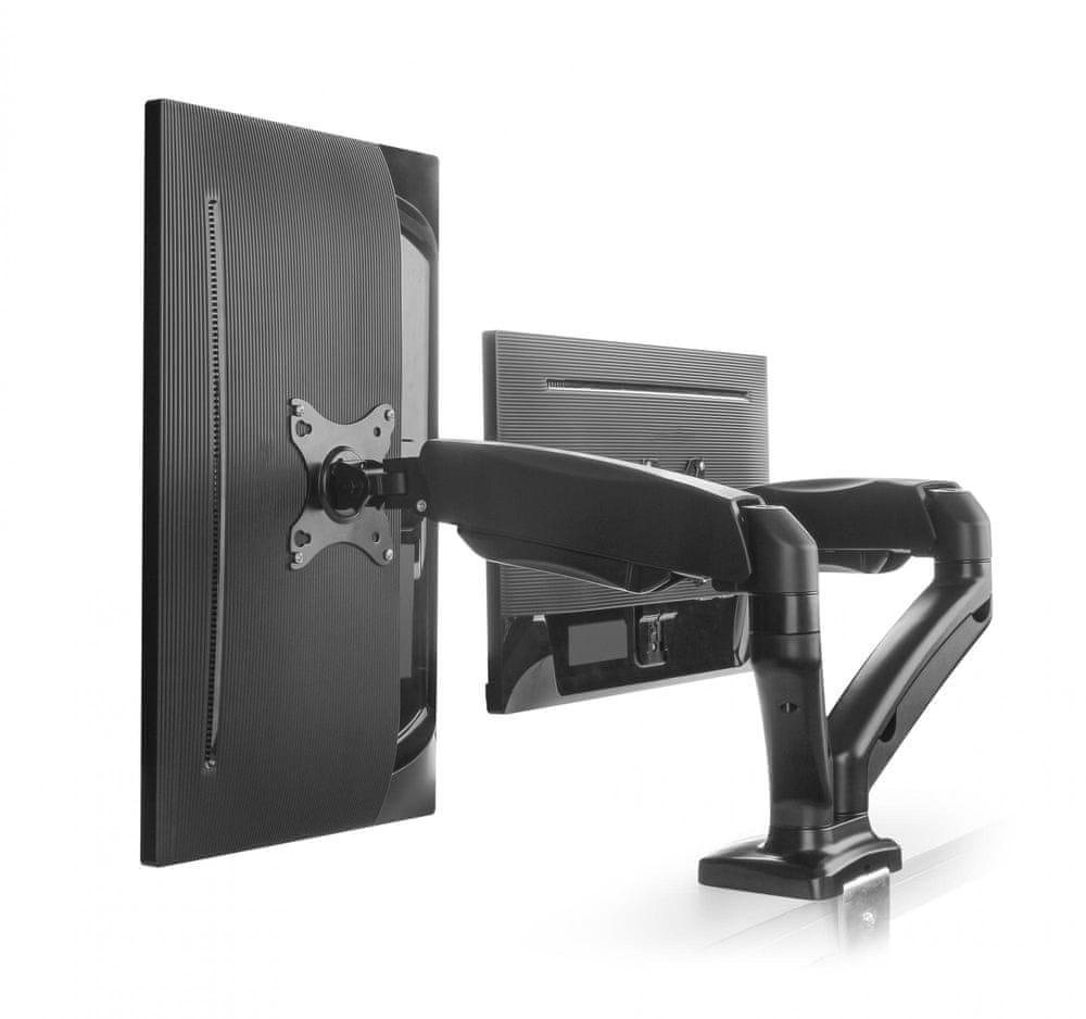 """MAX stolní držák pro dva LCD monitory 13-27"""""""