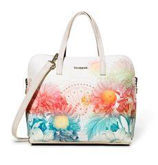 Desigual ženska ročna torbica smetane New Valkiria Hamar