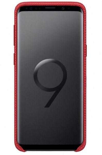 Samsung Látkový odlehčený zadní kryt pro Samsung Galaxy S9 (EF-GG960FREGWW)
