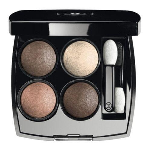 Chanel Oční stíny Les 4 Ombres (Quadra Eye Shadow) 4 x 1,2 g (Odstín 254 Tisse D'Automne)