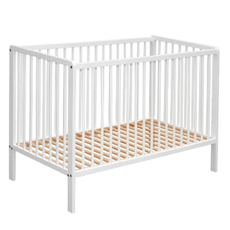COSING postelja iz lesa bukve, bela