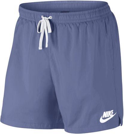Nike kratke hlače M NSW Short Wvn Flow Purple Slate White, vijolične/bele, XS