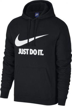 Nike M NSW Hoodie PO Jdi Black White XS