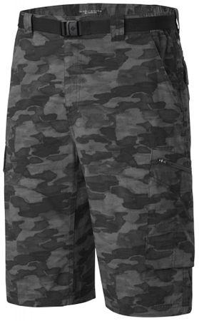 Columbia moške kratke hlače Silver Ridge Printed Cargo Short Black Camo, 30