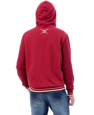 Timeout pánská mikina XL červená 97df1d5583