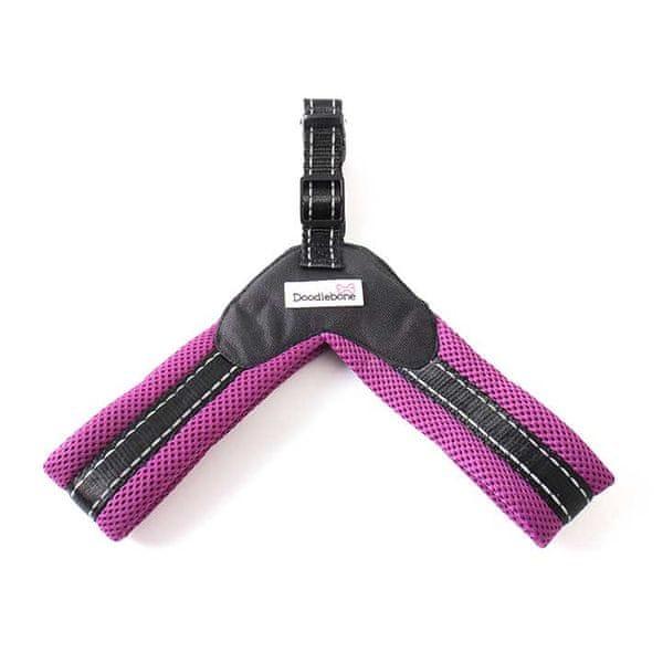 Doodlebone Postroj Boomerang Purple vel. XS