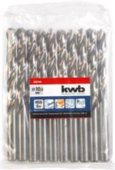 KWB KWB svedri za kovino SILVER STAR, 1 mm, 2 kom, HSS, DIN 338 (206510)