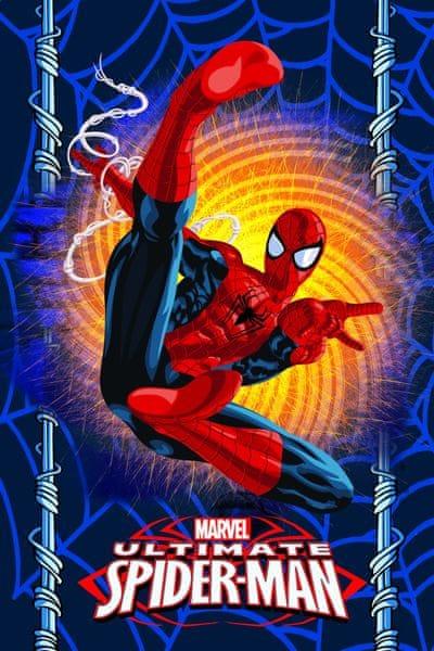 Jerry Fabrics Fleecová deka Spiderman