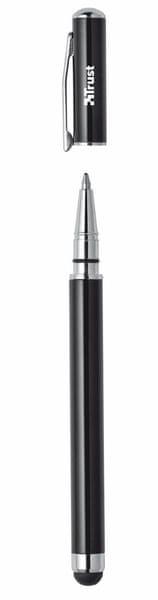 Trust Stylus & Ballpoint Pen - black