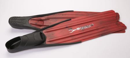 SOPRASSUB Ploutve freedivingové X-RACE RED, 35/36