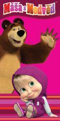Jerry Fabrics Osuška Máša a Medveď 012