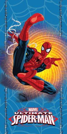 Jerry Fabrics brisača Spiderman blue, modra
