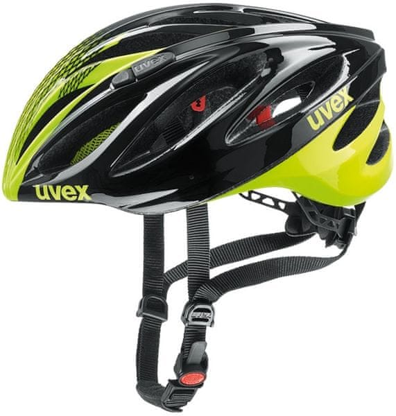 Uvex Boss Race Black-Neon Yellow 52 - 56 cm