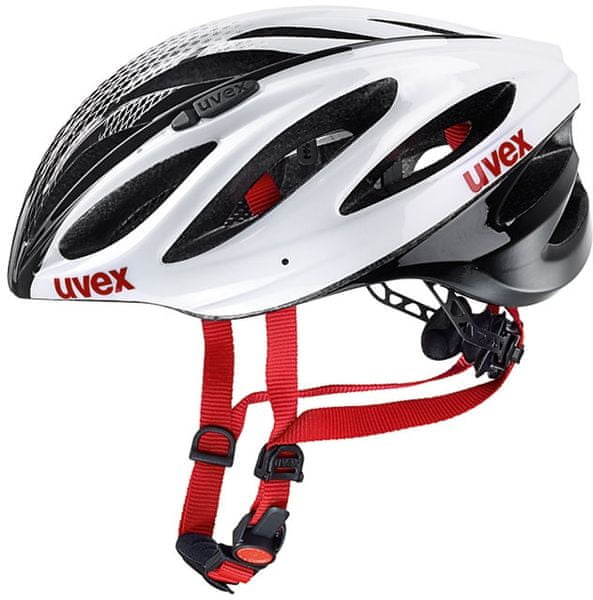 Uvex Boss Race White-Black 52 - 56 cm