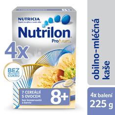 Nutrilon Mléčná kaše 7 cereálií s ovocem - 7 x 225g