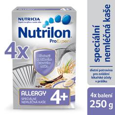 Nutrilon Allergy nemléčná kaše - 4 x 250g