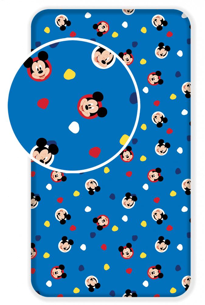 JERRY FABRICS Prostěradlo Mickey 004 bavlna 90x200