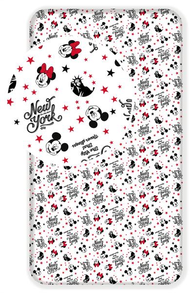 Jerry Fabrics Bavlněné prostěradlo MM in New York