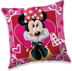 Jerry Fabrics okrasni vzglavnik Minnie hearts 02
