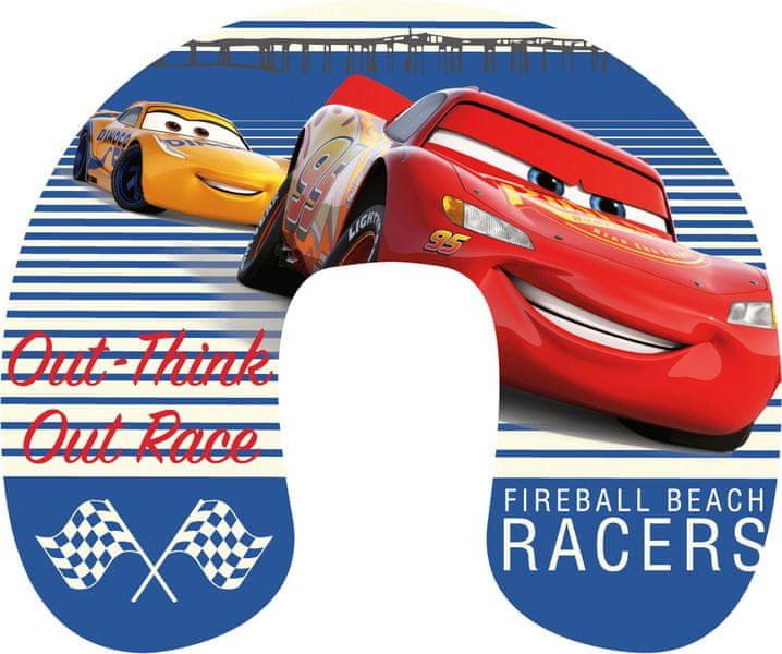 Jerry Fabrics Cestovní polštářek Cars