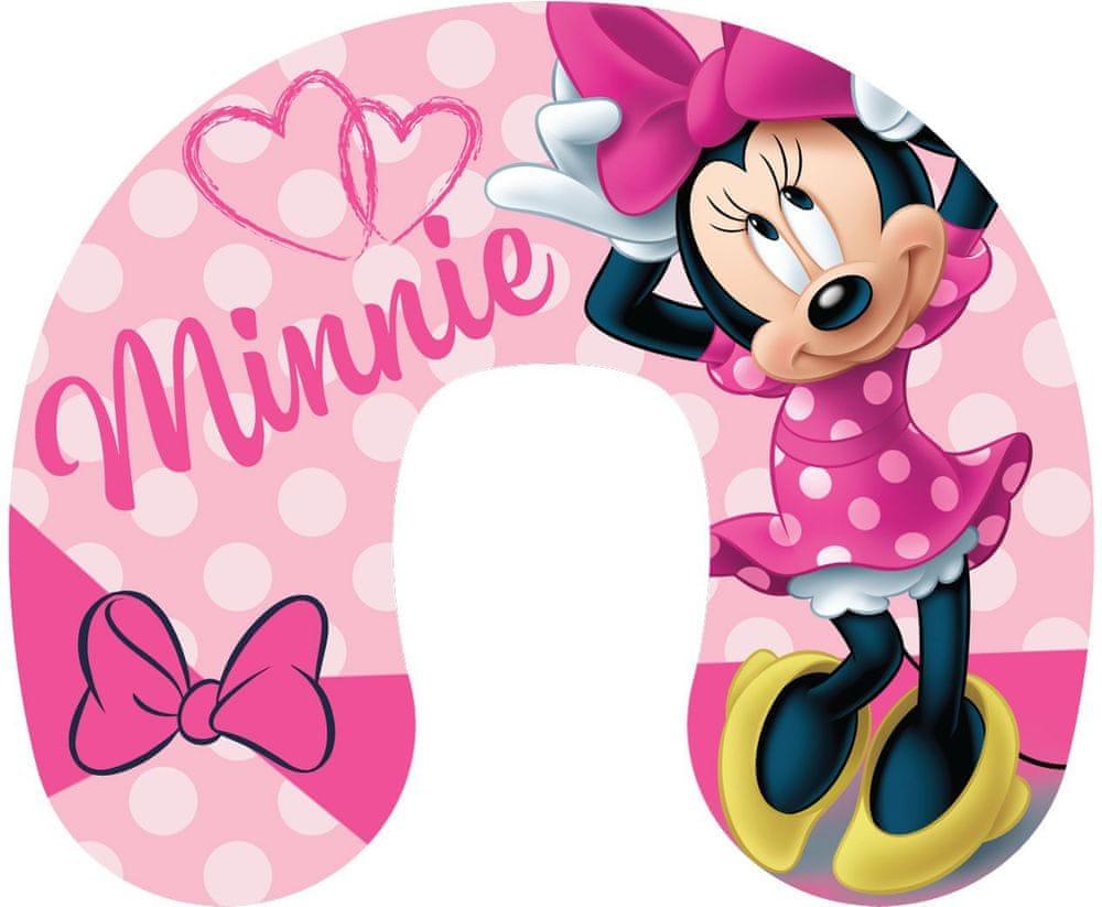 Jerry Fabrics Cestovní polštářek Minnie pink