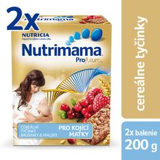 Nutrilon Nutrimama Profutura Cereální tyčinky 2x 200 g