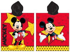 Jerry Fabrics pončo s kapuco Mickey star