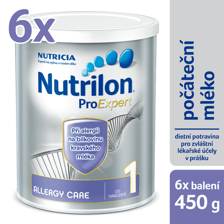 Nutrilon 1 Allergy care - 6 x 450g