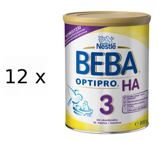Nestlé BEBA OPTIPRO HA 3 - 12x400g