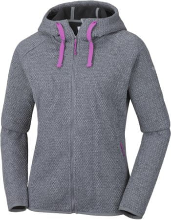 Columbia jopica Pacific Point Full Zip Hoodie, Grey Ash, M