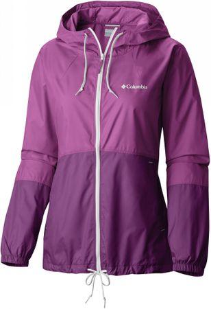 Columbia ženska jakna Flash Forward Windbreaker Intense Violet, Brght Lavender, M