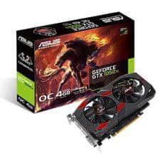 Asus grafična kartica Cerberus GeForce GTX 1050 Ti OC Edition 4GB GDDR5
