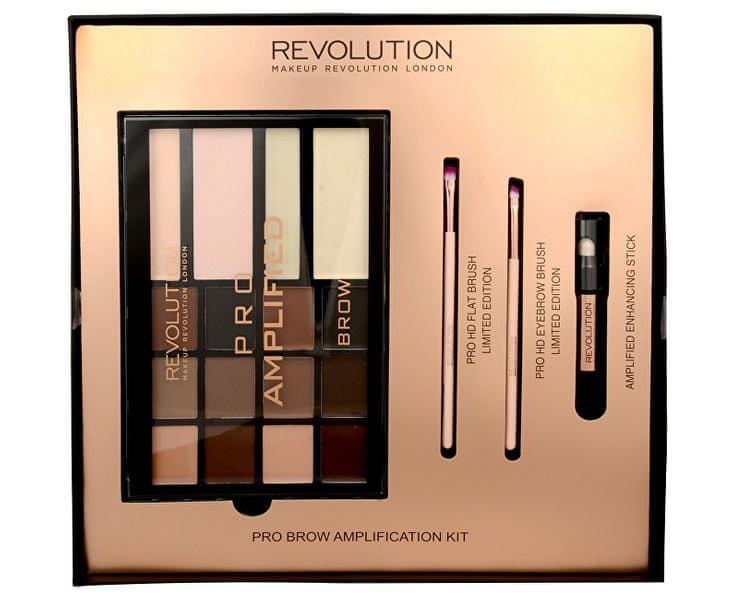 Makeup Revolution Sada na úpravu obočí Brow Amplification