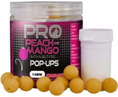 Starbaits Plovoucí boilie Probiotic Pop Up Peach Mango 60 g