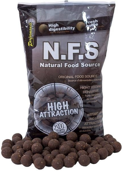 Starbaits Boilies Concept NFS 1 kg, 10 mm