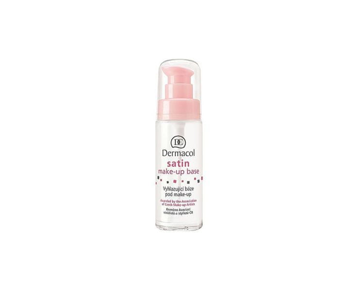 Dermacol Vyhlazující báze pod make-up (Satin Make-up Base) (Objem 15 ml)