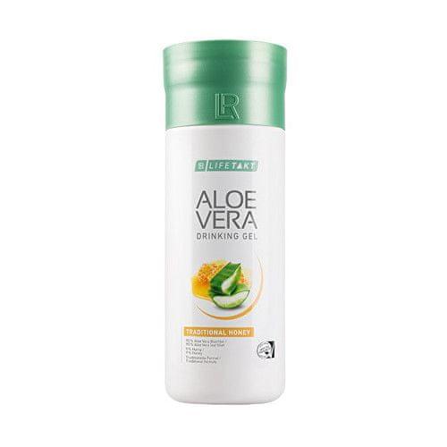 Aloe Vera Drinking Gel Traditional s medem 1000 ml