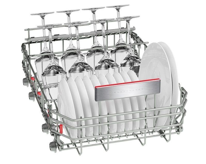 Vestavná myčka Bosch SPI66TS01E Systém Glass Rack