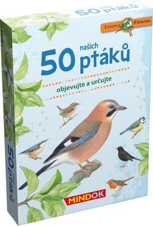 Mindok 50 ptáků