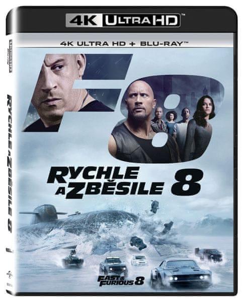 Rychle a zběsile 8 (2 disky) - Blu-ray + 4K ULTRA HD