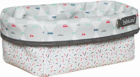 Bebe-jou Textil tárolókosár szoptatási kellékekhez, Wheely