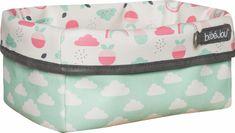 Bebe-jou Textil tárolókosár szoptatási kellékekhez, Blush Baby