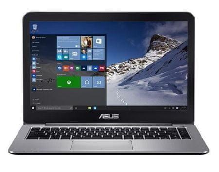 Asus prenosnik VivoBook 14 E403NA-GA002T N3350/4GB/eMMC32GB/14HD/W10Home (90NB0DT1-M01590)