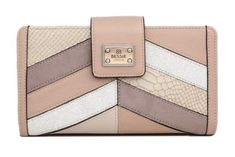Bessie London dámská béžová peněženka