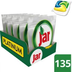 Jar kapsle Platinum Yellow Box 135 ks